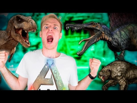STRIJDER DINO'S! - ARK: The Center #4