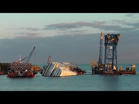 Costa Concordia-The Beginning and the End.......