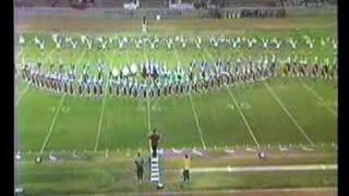 Arcadia H.S. Marching Band Pt1 @ 1985 Azusa Field Tournament
