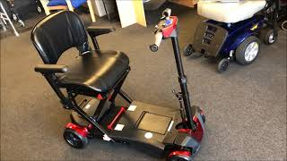 Drive Devilbiss Flex Auto Folding Lithium Powered Scooter