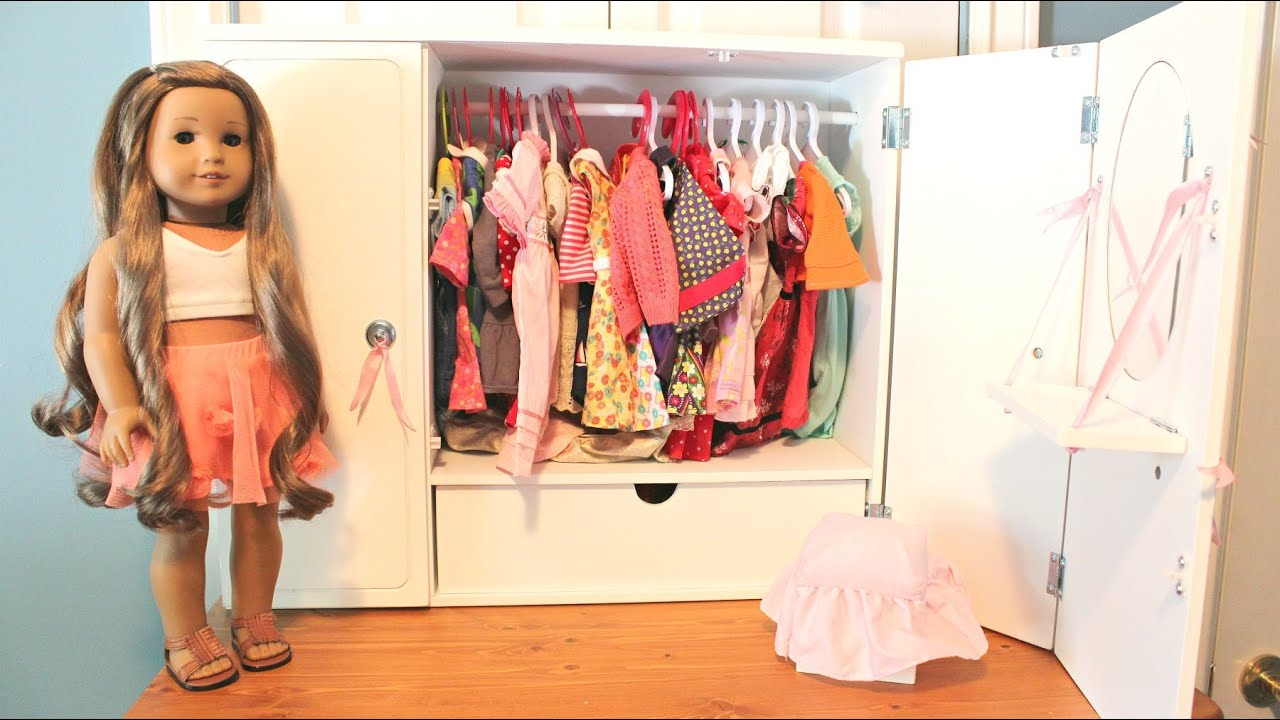 Our Generation Wardrobe Review For American Girl Dolls!   YouTube