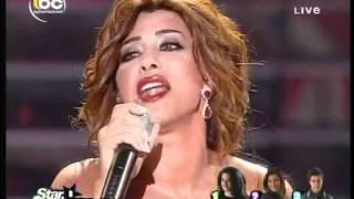 Live Najwa Karam Ma Fi Noum Star Academy 8 Lebanon 15-07-2011Live