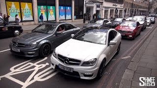Angry AMGs Making Noise in London
