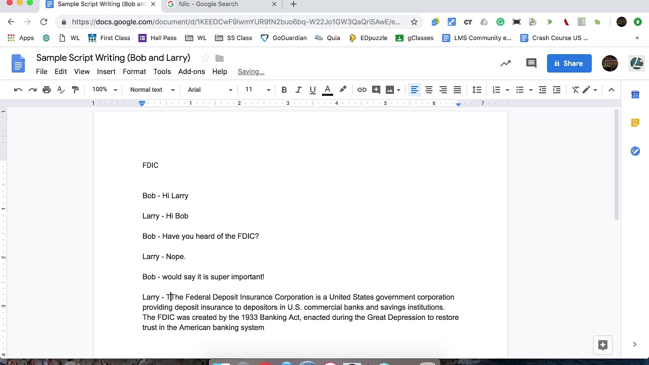 Podcast Sample Script Writing