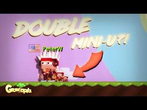 TWO MINI-U?! | Growtopia (MythBuster #6)