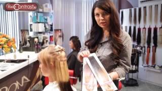 Ленточное наращивание волос  Ombre Hair Extension , накладка для волос, Nordic Hair Contrast