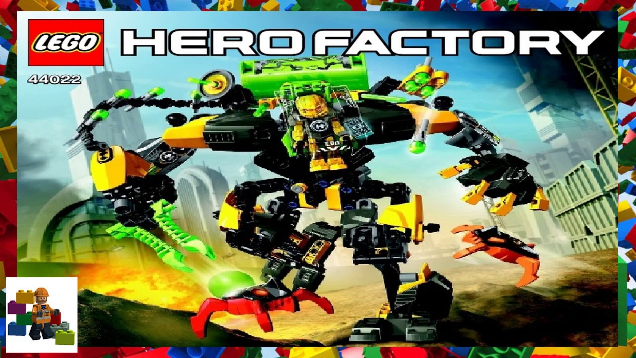 Lego Instructions Hero Factory 44022 Evo Xl Machine Youtube