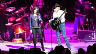 "George Strait & Martina McBride - ""Jackson & ""Golden Ring"" - Philadelphia PA 2/28/14"