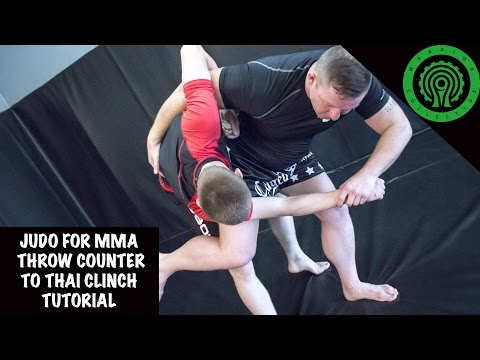 Judo For MMA Throw Counter To Thai Clinch Tutorial