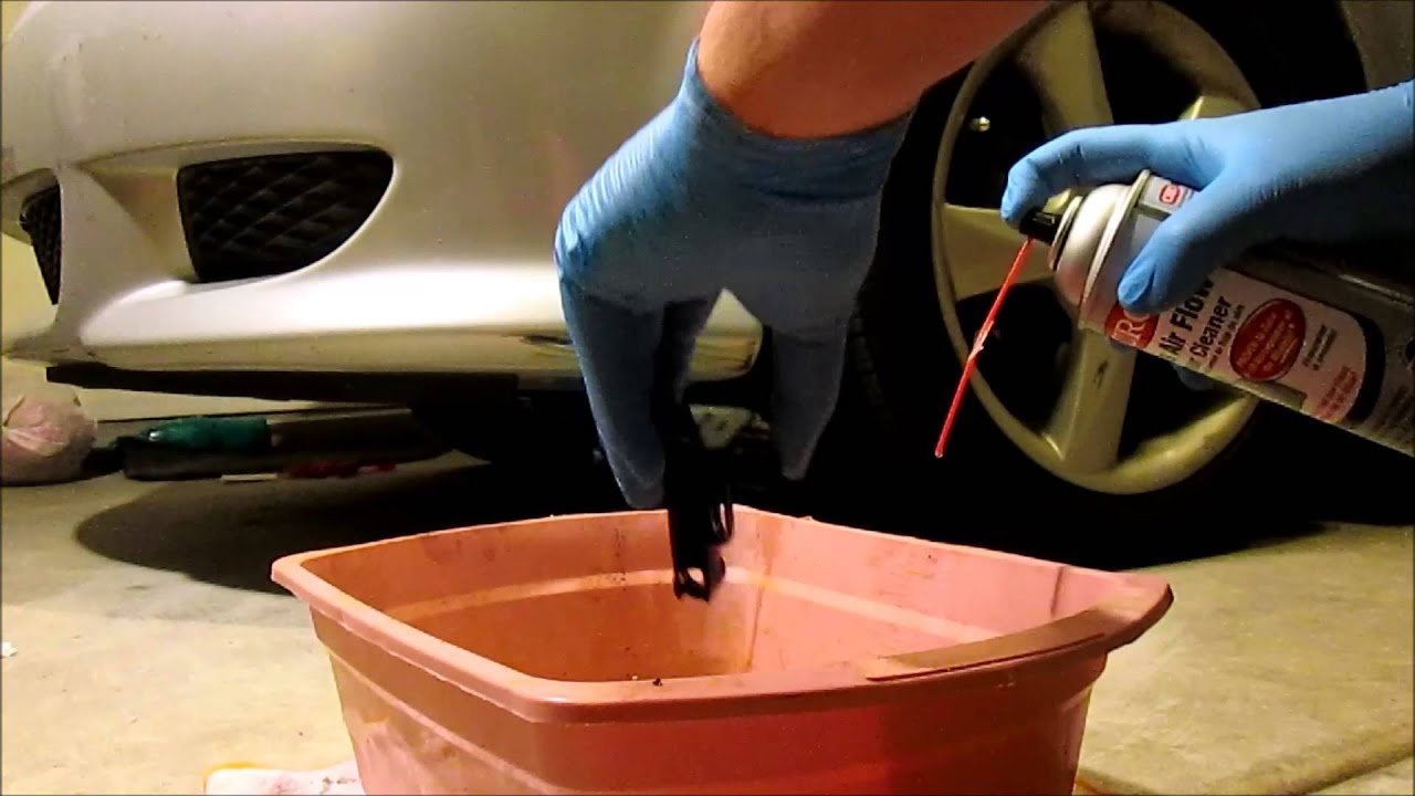 Mass Air Flow Maf Sensor Cleaning The Right Way 2004 Mazda 6 S Youtube