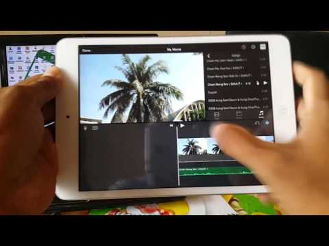 How to edit movie with iMovie for YouTube | របៀបកាត់តរវីដេអូ