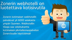 webhotelli | web hosting | helppo webhotelli | Zoner.fi