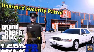 Unarmed Security Patrol - Blaine County | GTA 5 LSPDFR Episode 352