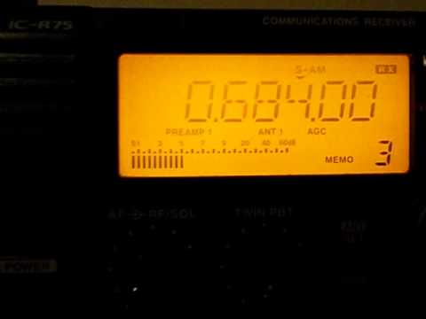 684  khz - SPAIN - Radio Nacional de Espana'