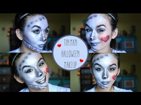 Tin Man Makeup Tutorial  sc 1 st  YouTube & Tin Man Makeup Tutorial - YouTube