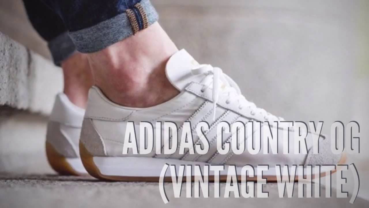competitive price 5d663 4c7fa ADIDAS COUNTRY OG (VINTAGE WHITE)  SNEAKERS T