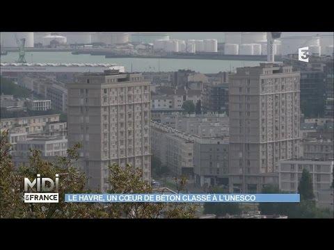 Le Havre, une ville de béton classée à l'UNESCO