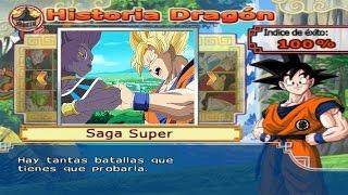 Dragon Ball Z Budokai Tenkaichi 4 - Modo historia Saga Super MODS El Dios de la Destrucción Bills #2