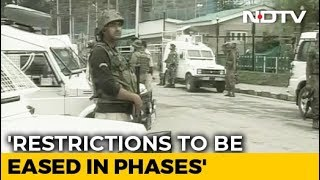 Centre's 4-Point Blueprint For Long-Term Calm In Jammu And Kashmir