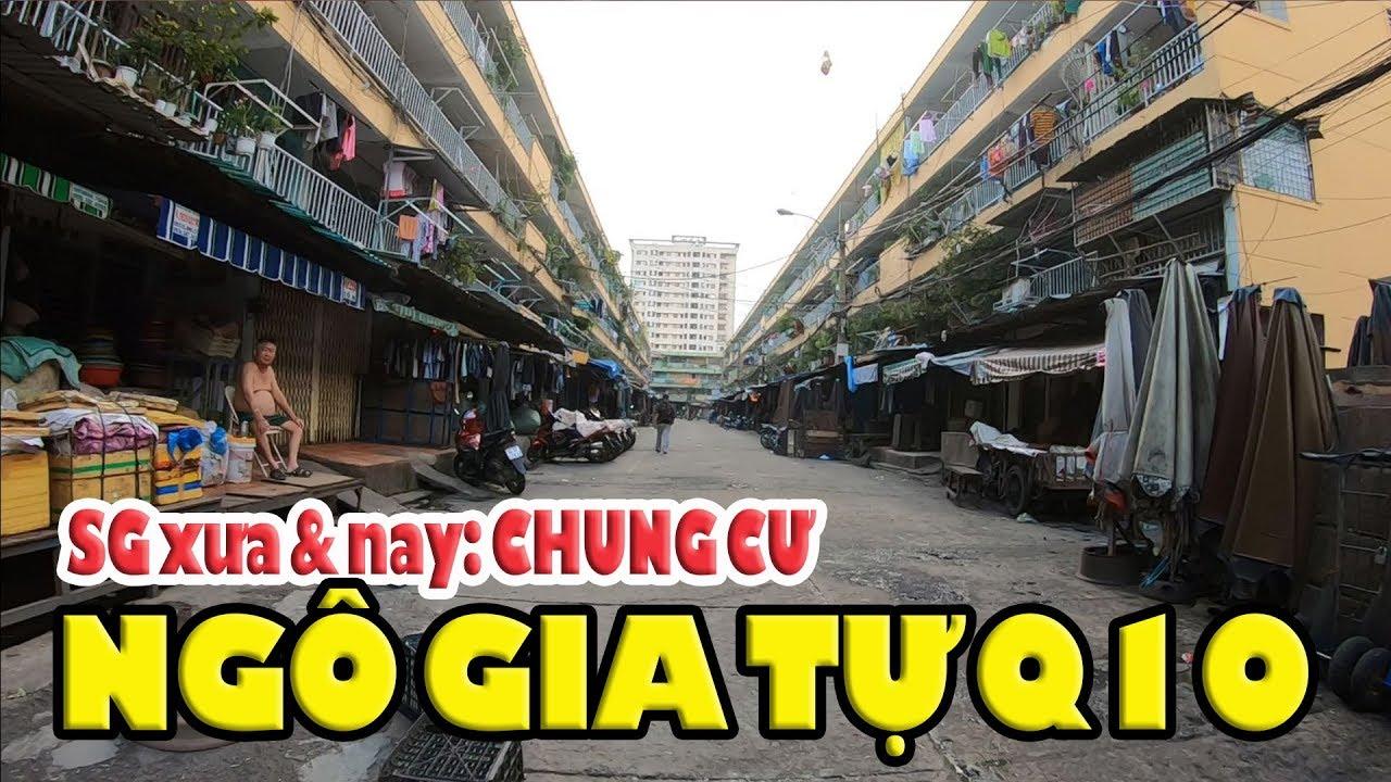 """Chợ An Đông chung cư Ngô Gia Tự và những """"nghệ sĩ xiếc"""" chở hàng trên đường phố Sài gòn"""