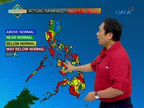 UB: Weather update as of 6:09 a.m. (May 24, 2019)