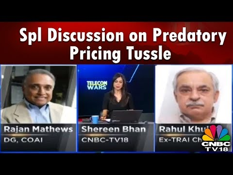 Telecom Wars | Special Discussion on Predatory Pricing Tussle | CNBC TV18