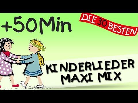 Der Kinderlieder Maxi Mix – Über 50 Minuten Musik zum Mitsingen || Kinderlieder