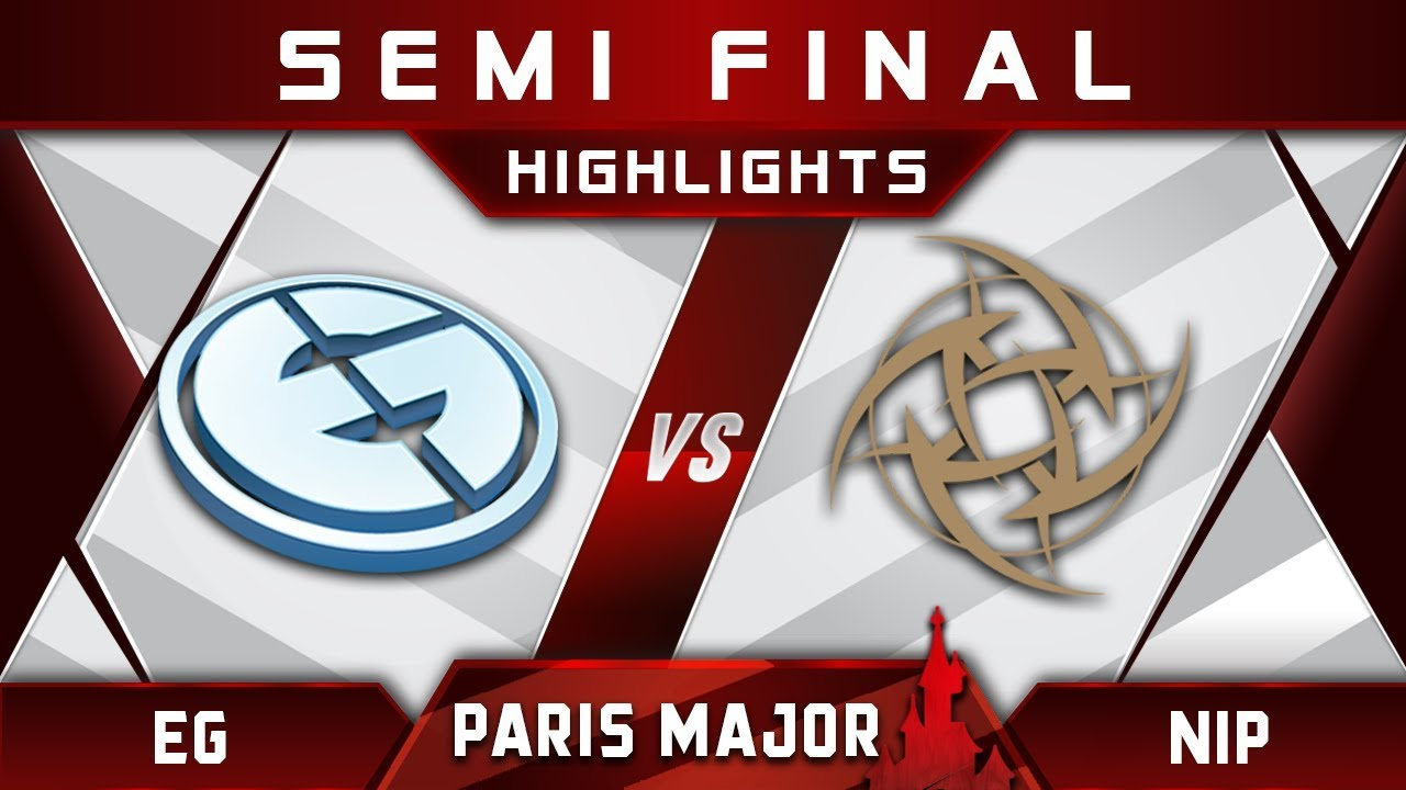 MDL Disneyland Paris Major eg vs nip