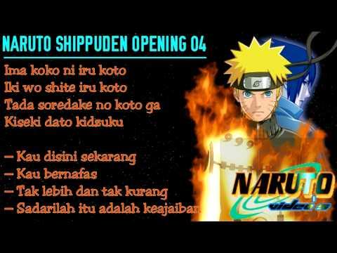 Naruto Shippuden Opening 04.lirik & Subtitle indo