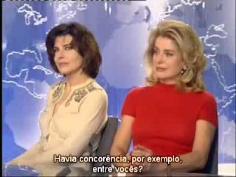 Catherine Deneuve e Fanny Ardant - Legendado - YouTube