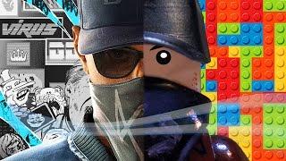 LEGO WATCH_DOGS 2 ★ ТОП 10 РЕАЛЬНО СУЩЕСТВУЮЩИХ МЕСТ