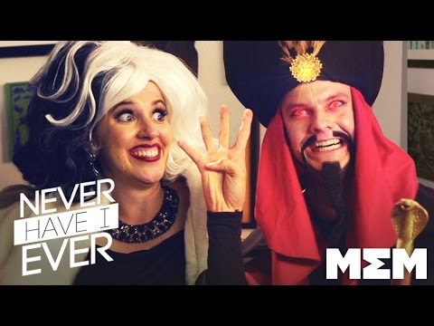 Disney Villains play Never Have I Ever (Ep 1) - Garlic Jackson on MEM