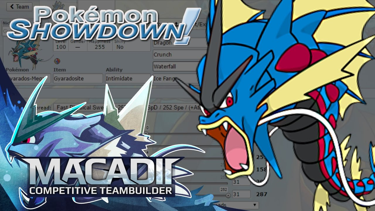 Mega gyarados team builder pokemon showdown ou team building w mega gyarados team builder pokemon showdown ou team building w macadii smogon oras ou youtube voltagebd Images