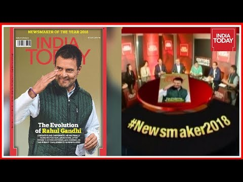 Exclusive : Rahul Gandhi Emerges India Today Magazine's Newsmaker of 2018 | Editors Roundtable