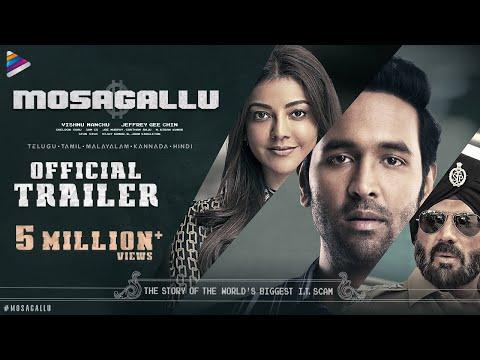 Mosagallu Telugu Movie Trailer | Vishnu Manchu | Kajal Aggarwal | Suniel Shetty | Telugu FilmNagar
