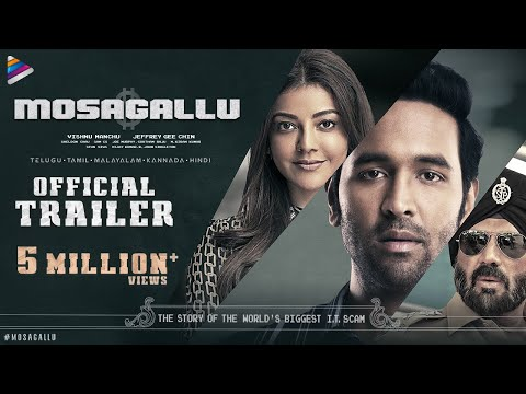 Mosagallu Telugu Movie Trailer | Vishnu Manchu | Kajal Aggarwal | Suniel Shetty | Full Trailer