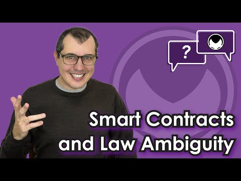 Ethereum Q&A: Smart Contracts and Law Ambiguity