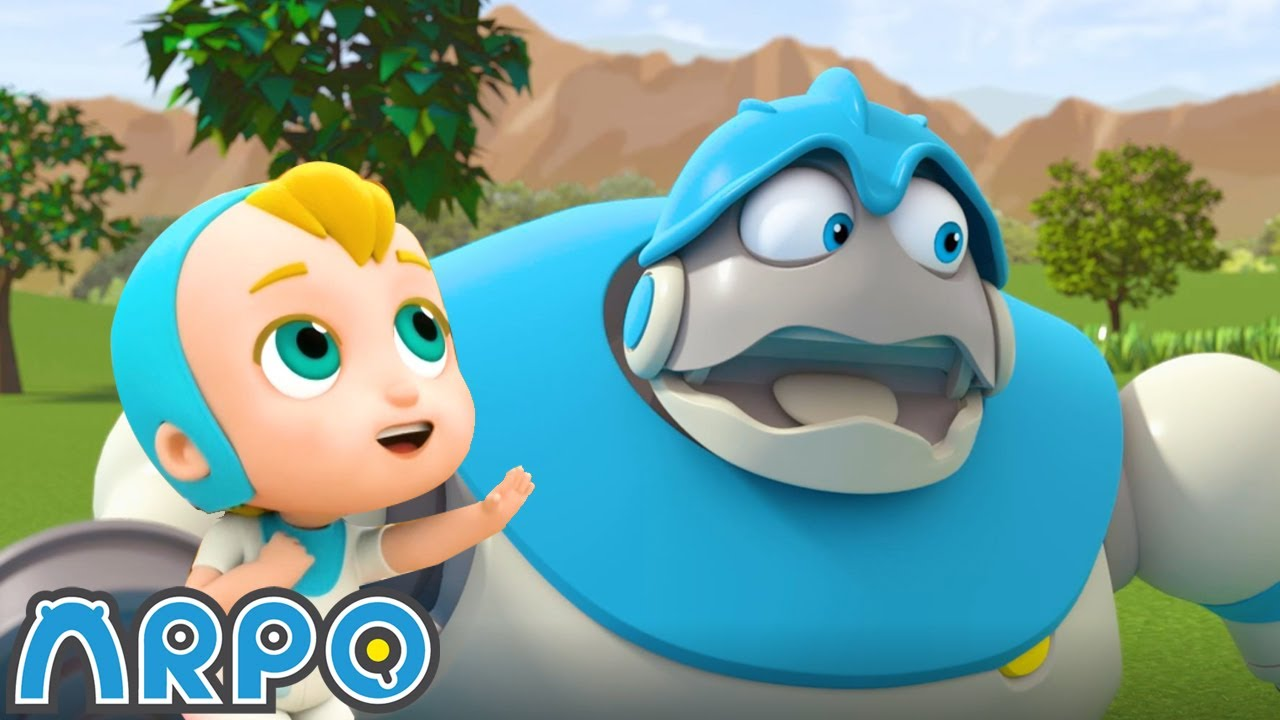 PICNIC DISASTER!!! | Robot Nanny | Cartoons for Kids | @ARPO The Robot