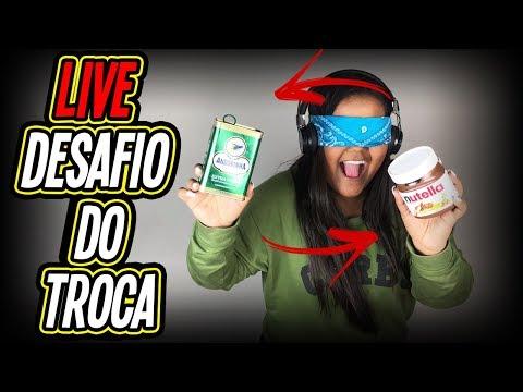 LIVE - DESAFIO DO TROCA !!!