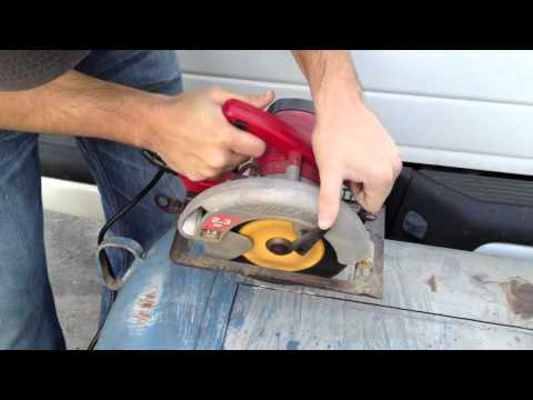BBQ smoker cutting the door of a propane tank & BBQ smoker cutting the door of a propane tank - YouTube