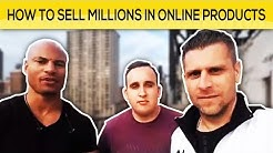 How To Sell Millions In Online Products w/ Brandon Carter and Andrei Kreicbergs