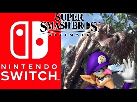 Rumor: Monster Hunter Switch Coming in 2019/2020 | 15 New Smash Ultimate DLC Fighters Slots Found ? thumbnail