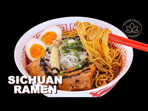 #1 Sichuan Ramen   How to Make Spicy Ramen at Home