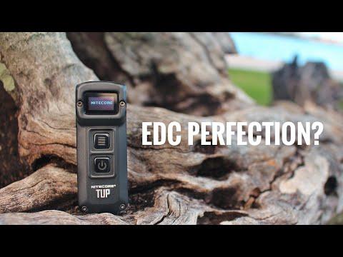Nitecore TUP Review- Best Keychain EDC Flashlight? (1000 Lumens)