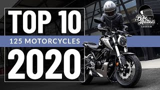 Top 10 125cc Motorcycles 2020 - Best bikes for CBT riders!