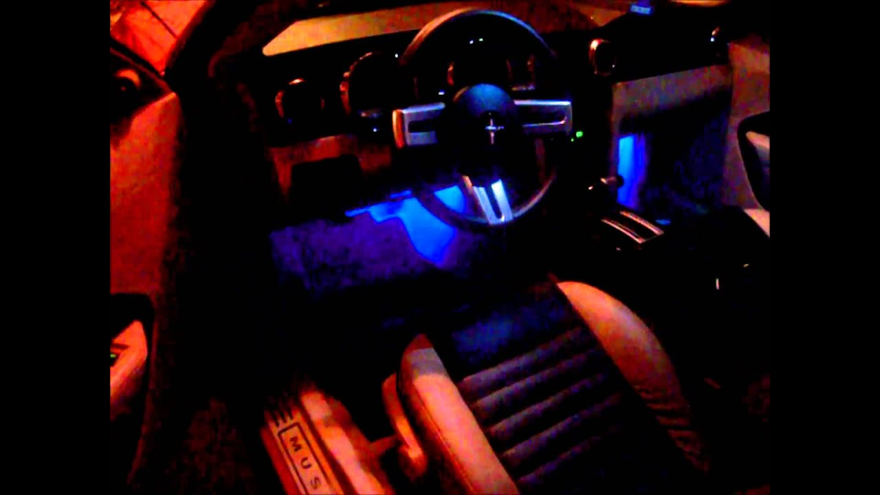 2009 Mustang Interior Light Modification Youtube 2015 Fuse Box Cover
