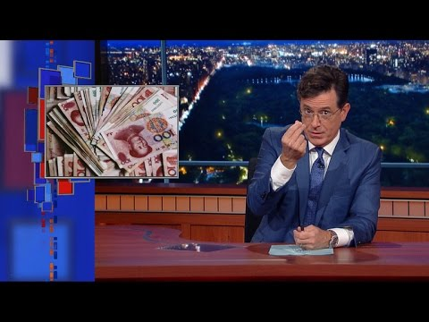 Stephen Colbert's Pander Express