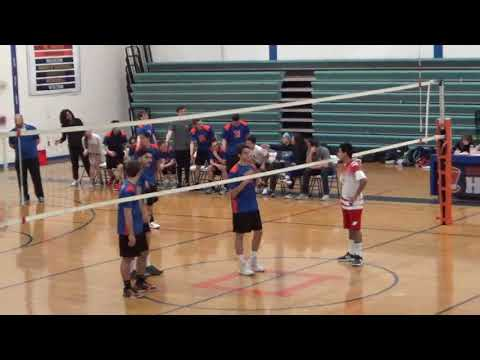 Danbury Boys Volleyball vs Greenwich 4/4/18