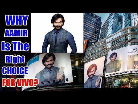 Why Aamir Khan Is The Face Of Vivo Mobile...