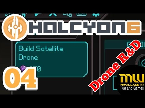 Let's Play HALCYON 6 (UPDATE 1.1) S2 E04 - Drone Research
